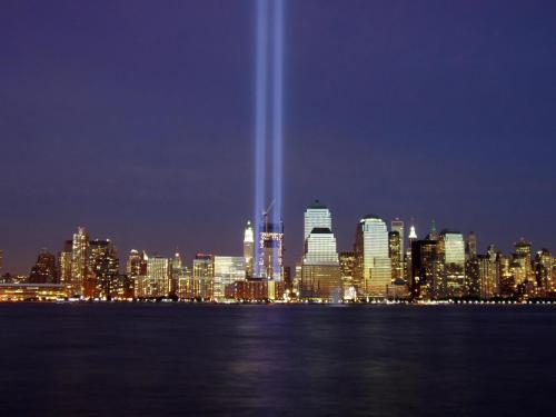 Today we remember those who lost their lives in the tragedies of September 11, 2001 and thank those who fight for our freedom. We are so truly proud and blessed to call ourselves Americans.