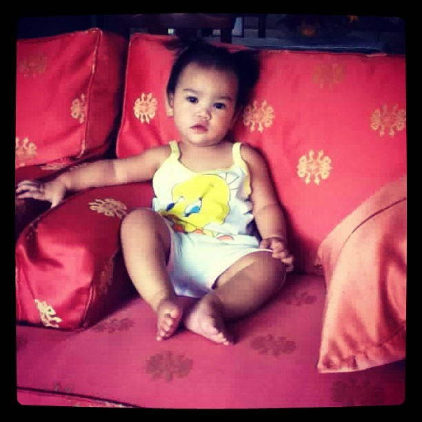 Gabie while waiting for be careful with my heart :) @tholite @lizoconor @iamwysly  (Taken with Instagram)