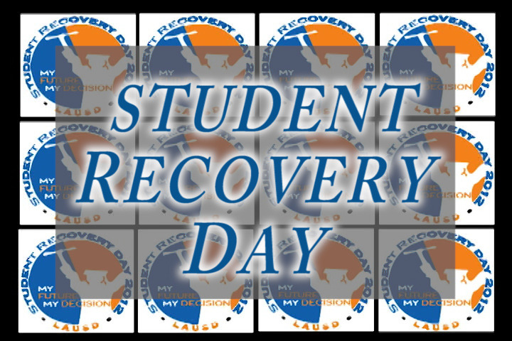 Student Recovery is a program that emphasizes Student Recovery Day, when the LAUSD, with over 150 district employees and volunteers, goes into neighborhoods and homes to reach out to students and parents with the goal of bringing truant students and drop-outs back to school. Watch the program on KLCS:  09/09/2012        07:00AM09/09/2012        03:00PM                                  09/10/2012        06:30AM                                         09/10/2012        06:30PM             09/12/2012        06:30AM                                         09/12/2012        06:30PM                                           or online on the KLCS Vimeo Channel: https://vimeo.com/49203238 For more information about Student Recovery Day, please contact LAUSD Pupil Services by calling 213-241-3844 or visiting http://pupilservices.lausd.net/