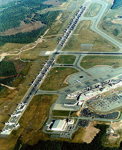 Today marks 11 years since the most tragic day in the history of aviation. All of our respect goes out to the thousands killed and their families, along with all the rescue workers and support that helped that fateful day.One perhaps lessknown fact is the amazing work that Air Traffic Controllers in the US and Canada did following the order to immediately ground all aircraft in US airspace. In less than an hour, they controlled over 6,500 aircraft carrying nearly 1 million people to safely land at airports across the region. This photo was shot at Halifax where the second runway had to be used to park all these aircraft that were bound for the states. ATC already have one of the most stressful jobs in the world, let alone how much more stress it would have been to accomplish such a feat.Just another example of everyday amazing people that you never hear of, yet you could never fly without them. [x]