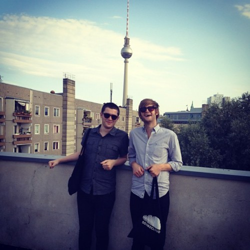 The awesome guys from RAC stopped by the SoundCloud HQ in Berlin to say Hi! http://soundcloud.com/rac