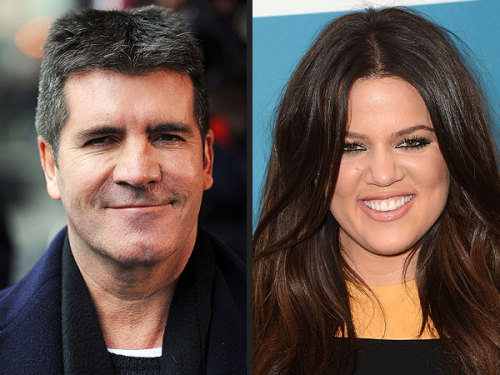 """Khloé is definitely up there in [the] running.""  - Simon Cowell, on the possibilities of reality star Khloé Kardashian joining X Factor as host of season 2, on The Ellen Degeneres Show"