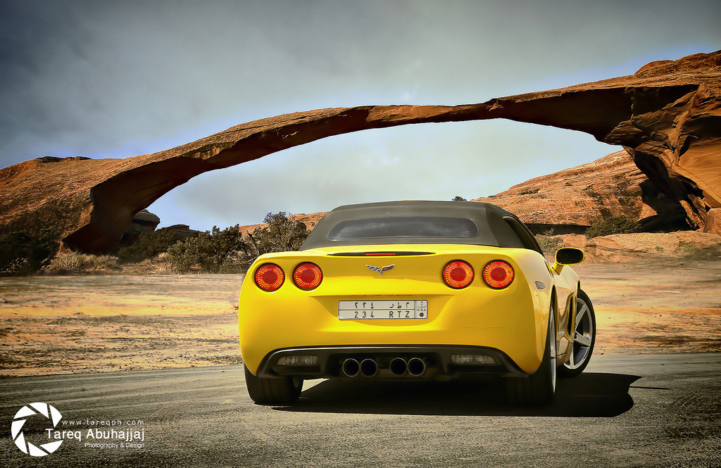 Chevrolet Corvette C6 (by Tareq Abuhajjaj | Photography & Design)
