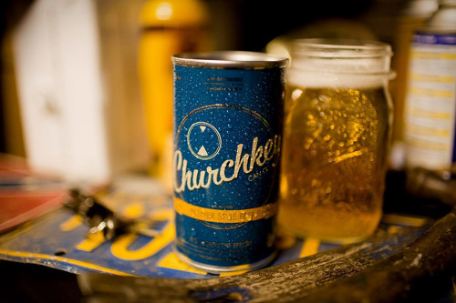 Believe it or not, beer used to come in cans that required you to put in a bit of work before you could enjoy their hoppy essence. Churchkey Beer ($TBA) is looking to bring that experience back with a flavorful, golden Pilsner that comes in a flat-top can — leaving you only one way to get the sudsy goodness out.