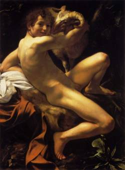 hodeiek:   St, John the baptist: Caravaggio.