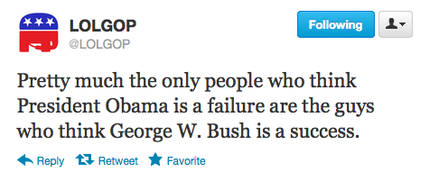 reagan-was-a-horrible-president:  liberalsarecool:  LOLGOP keepin' it real.  Bush's Final Approval Rating: 22 Percent http://www.cbsnews.com/stories/2009/01/16/opinion/polls/main4728399.shtml