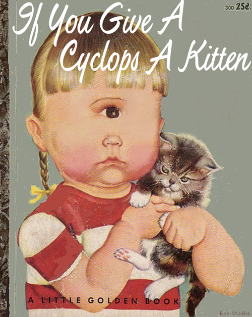 laughingsquid:  Bad Little Children's Books, Twisted New Covers for Old Books