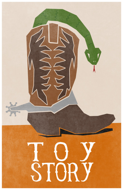 minimalmovieposters:  Toy Story by Travis English