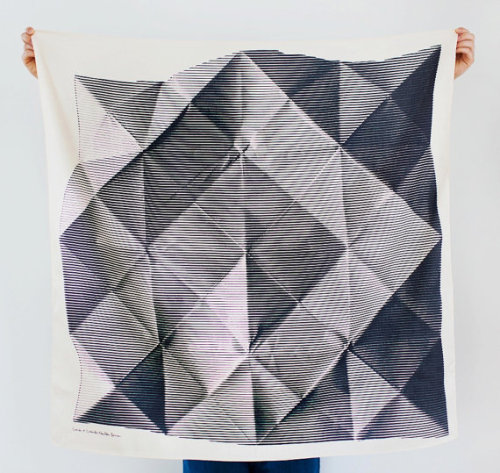 (via Folded Paper Furoshiki Black Furoshiki by thelinkcollective)