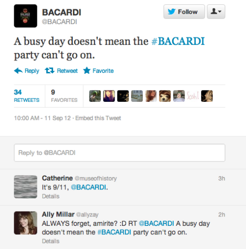 cockenblog:  Ohhhh Bacardi, WHAT are you DOING?
