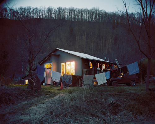 Steve Harris' House, Nolichucky River, Erwin Tennessee, 2011 Jeff Rich
