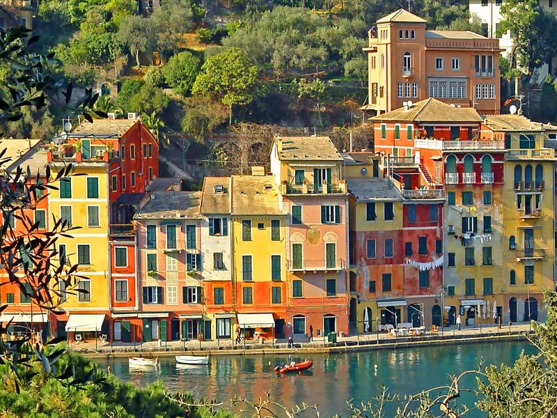 Colours of Portofino - Liguria, Italy  | by © verswe |