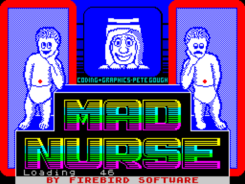 "Here's one from yesterday's article about the ZX Spectrum game Mad Nurse. Can you guess what darkness lies at the heart of this game, a darkness so terrible that the person who reviewed it for C+VG magazine called it ""the sickest game I've ever played""? Here's a hint - I wouldn't get too attached to those babies if I were you…"