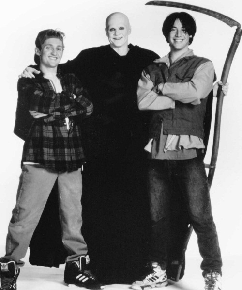 Bill & Ted's Bogus Journey William Sadler as the Grim Reaper made this movie.
