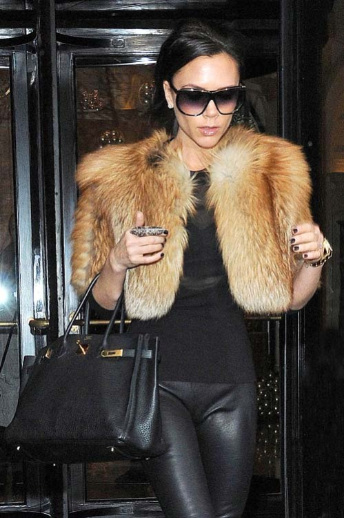 Leather + Fur = Win