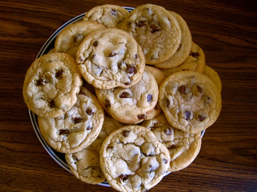"Afternoon Snack: ""Just An Entire Plate Of Cookies, Please"" edition"