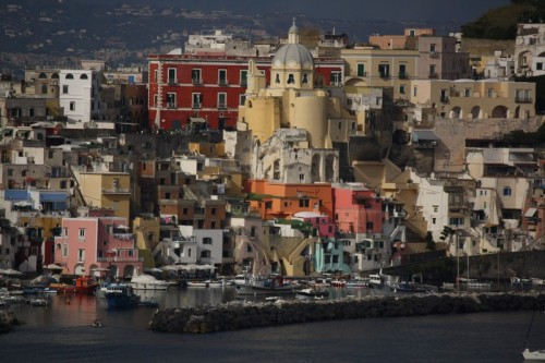 (via Corricella, a photo from Naples, Campania | TrekEarth) Procida, Campania, Italy