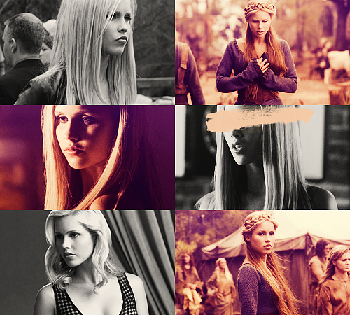 03. Rebekah Mikaelson - The Vampire Diaries25 males + 25 females  / Top 50 favorite tv characters in same colors