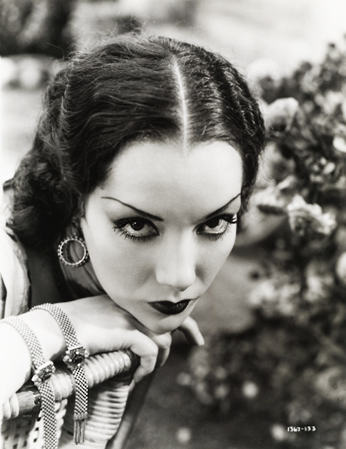 too—much—soul:  vintagegal:Lupe Velez in a publicity photo for The Broken Wing (1932)