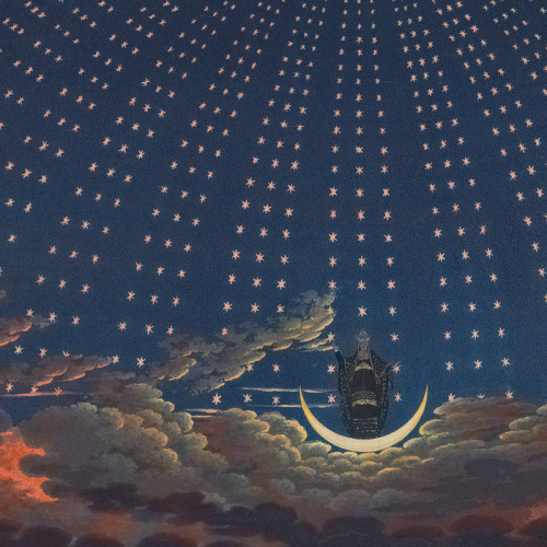 jaded-mandarin:  Karl Friedrich Schinkel 1816 Stage Designs for Wolfgang Amadeus Mozart's The Magic Flute.
