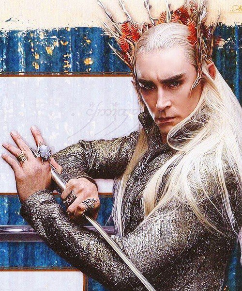 The Hobbit - Lee Pace ; King Thranduil