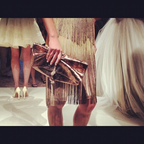Accessories @dennisbasso @pialyaditya @glittermagazine #nyfw  (Taken with Instagram)