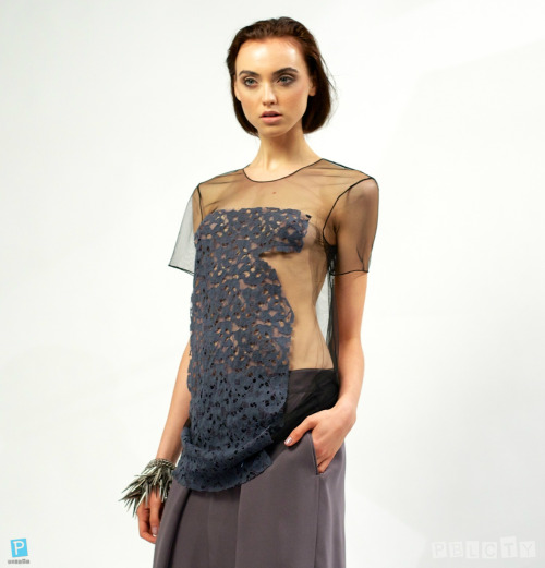 A piece off of designer Brandon Sun's Fashion Show Spring/Summer 2013 Collection Presentation.