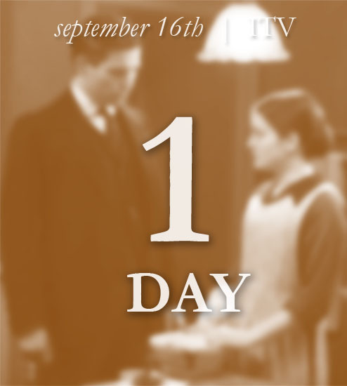 Downton Abbey Countdown Series Three