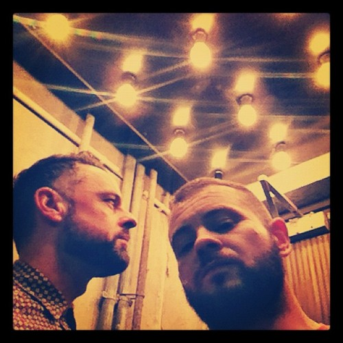 Adrian+Shane: at 'Cookies Cream' restaurant in Berlin (Taken with Instagram at Cookies Cream)