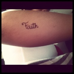 #Faith 👌😂  Beautiful :) (Tomada con Instagram)
