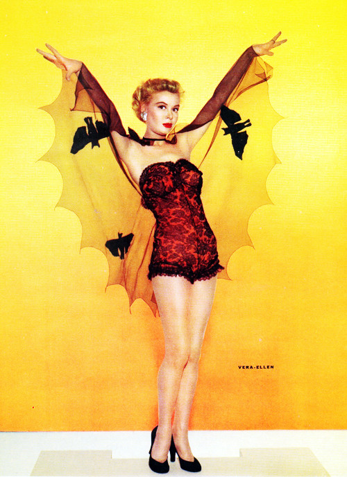 vintagegal:  Vera-Ellen c. 1950's  Happy Halloween!