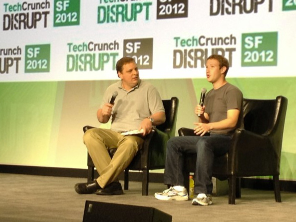 marketingland:  Facebook CEO Mark Zuckerberg at TechCrunch Disrupt - live blogging happening now.