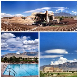 Today's job site: #SandiaResortAmphitheater,in #Albuquerque, #NewMexico. It is beautiful here!  (Taken with Instagram at Sandia Resort and Casino)