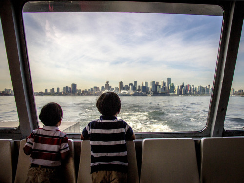 Photo of the Day: Vancouver Through the Window By Jason Gallant.