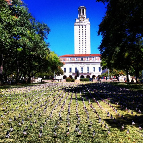 September 11th memorial at the University of Texas. What a somber, eerie afternoon. Really got me thinking as I stopped, took it in… and kept going with my life. Not everyone was lucky enough to just reflect and move on!