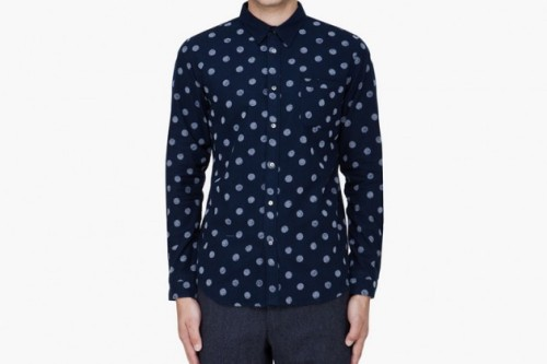 Robert Geller Polka Dot shirt