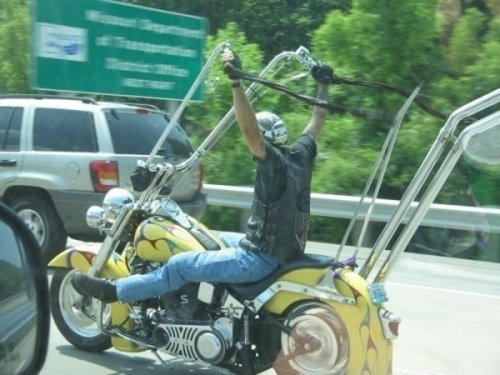 10 Weird Motorcycles [Click to view entire gallery] I want to feel the wind in my hair and the circulation leave my arms.