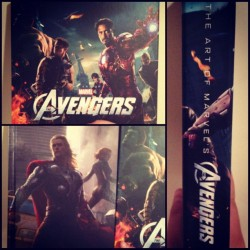 This book. Is so gorgeous. #Marvel Art of The #Avengers. #comics #geeklife #art (Taken with Instagram)