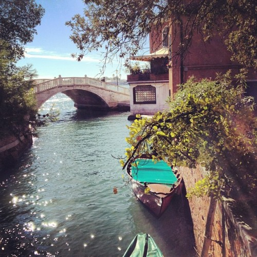 Missing our lovely day in #Venice!  (Scattata con Instagram)