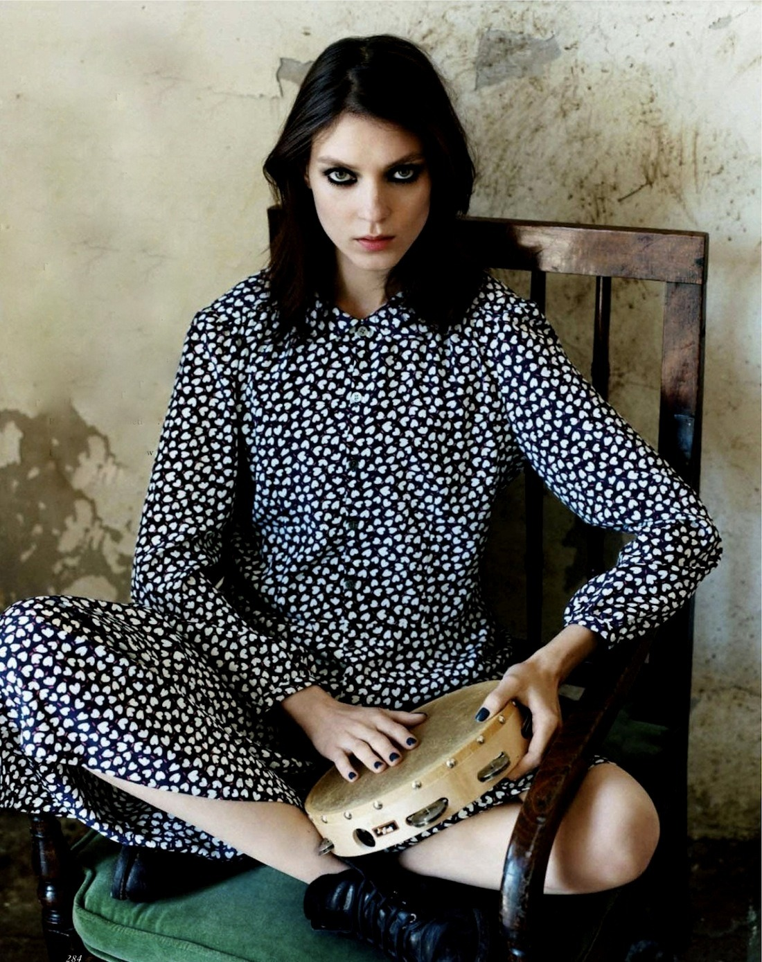 """Cathy Come Home"" Vogue UK October 2012"