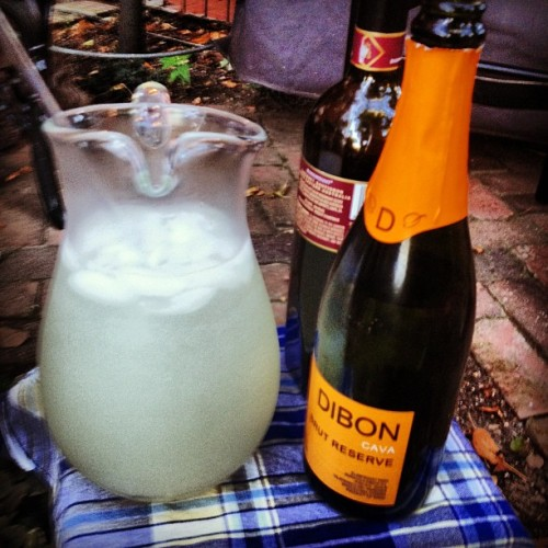 Booze chair #bookclub (Taken with Instagram)
