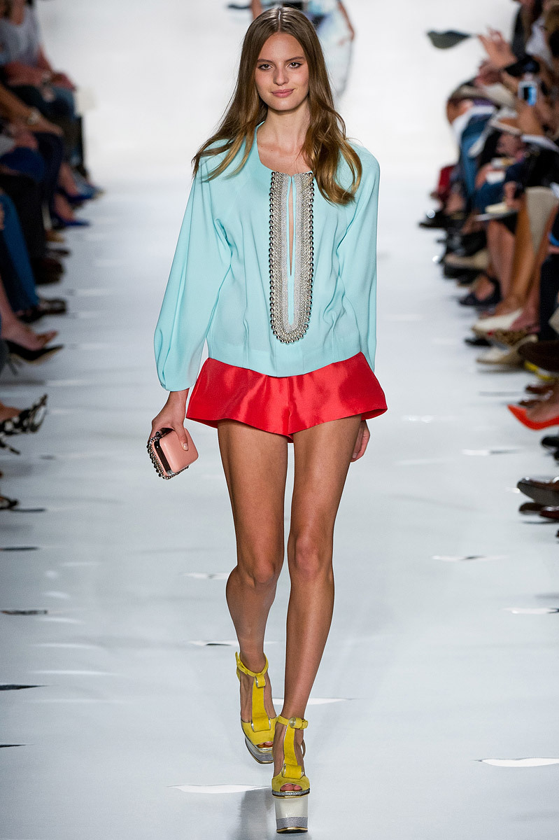 Best of Color of S/S Fashion Week 2013    There were a ride range of colors presented at this years fashion week. Brights, deep tones and soft blushing hues all shined this spring. I can't help but draw inspiration from these amazing palettes! ~amberlee