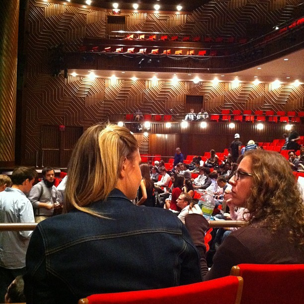 #nytm filling up. We go on 2nd! (Taken with Instagram at Skirball Center for the Performing Arts)
