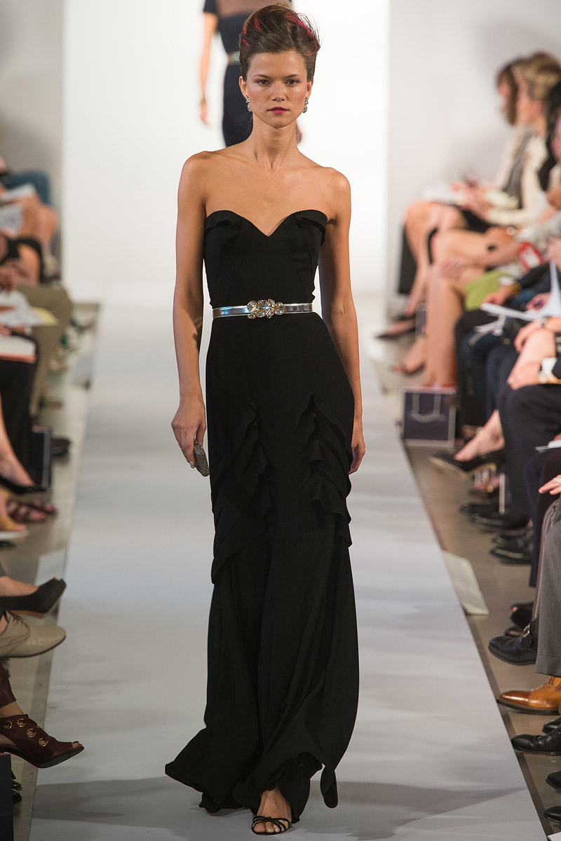 "Pageant Girls Take Note S/S Fashion Week 2013  This might be one of my favorite collections of photos I've curated for fashion week. :) As a former pageant girl myself, I have still floored that this industry traditionally cultivates some of the ugliest and gaudy 'self expression' amongst young women. I'll stand by my statement that couture does not equal a hot glue gun and rhinestones. In my humble opinion, the world should take note from the current Miss USA, Olivia Culpo. The brand herself and the Miss Universe organization has created for her is sophisticated, strong and refined. Ladies, you can't buy a ""winning look"". What you can exude through your clothing is taste and a strong sense of self. You can start to do this by studying the true innovators and designers in fashion and not taking your pageant coaches advice as gospel. ~amberlee"