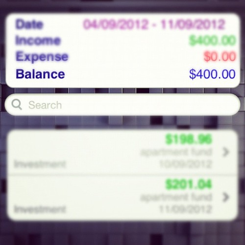 #apartment #fund #money #imagrownup @dominiquemcfadden  (Taken with Instagram)