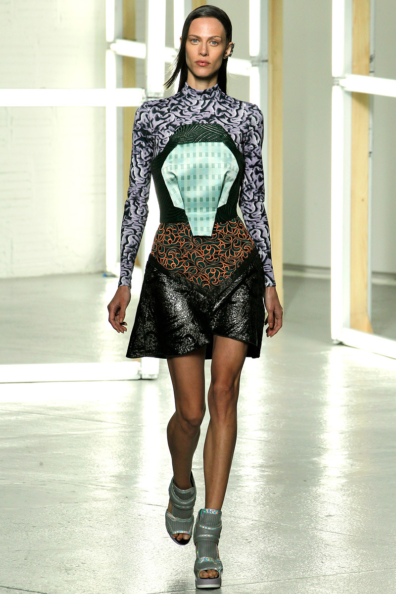 WTF of S/S Fashion Week 2013  Sometimes designers mess up. Most of us are lucky do so in the quiet of our studio, but when you're kind of a big deal there is no place to hide at Mercedes-Benz Fashion Week. And while I have nothing but respect for someone who can make it on this big stage, these are the looks that I feel could have used a second look! ~amberlee