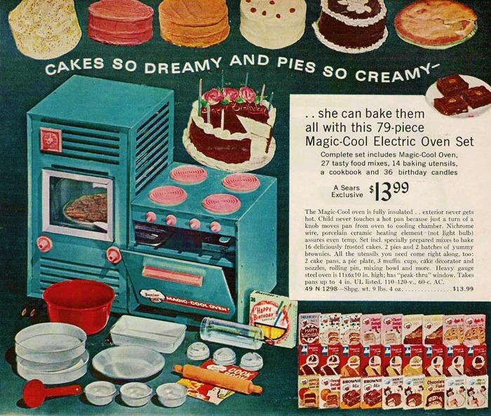 Magic Cool Oven 1966 Sears