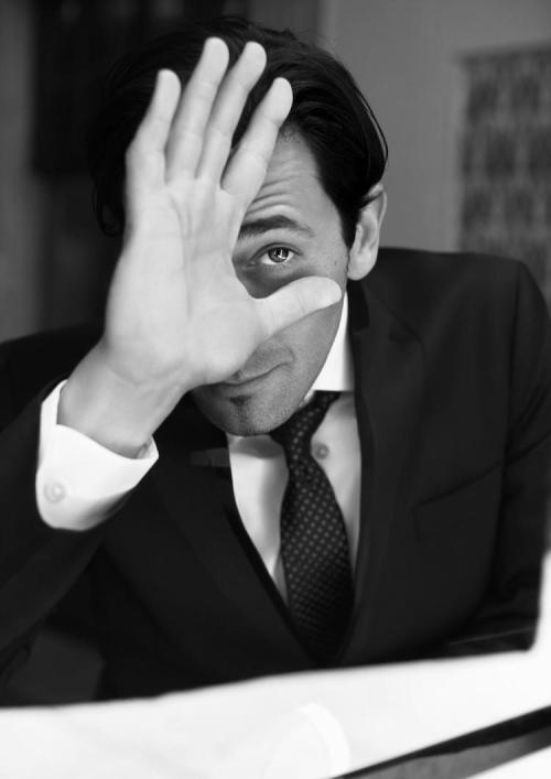suitupplease:  Adrien Brody, GQ Style Germany (Sep 12)