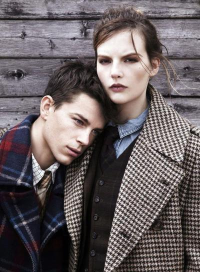 Jeremy Young and Sara Blomqvist for Harper's Bazaar UK (Oct 12)