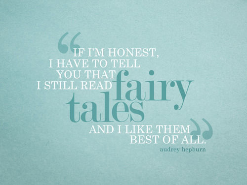 What's so wrong about believing in fairy tales?